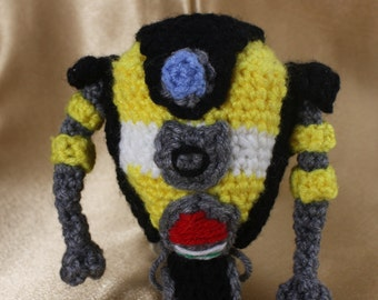 Crocheted Little Claptrap