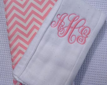 Personalized Baby Diaper Burp Cloth