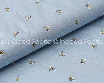 Powder Bees, Honey Bee Collection, Dear Stella, Quilting Weight Cotton Fabric