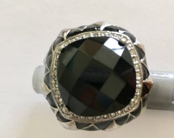 Vintage Statement Onyx Ring