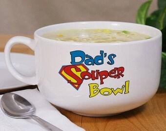 Personalized Soup Bowl, Name Soup Bowl, Ceramic Bowl