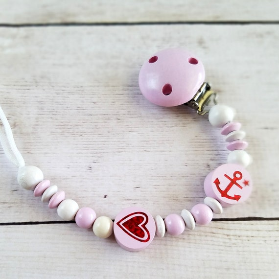 Baby easter gift baby girl pacifier clip personalized baby like this item negle Image collections