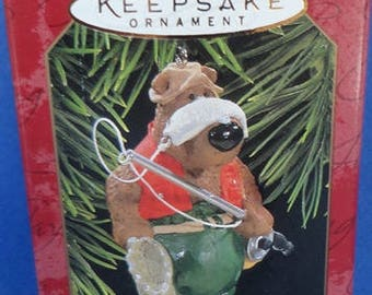 1997 Catch of the Day Hallmark Retired Ornament