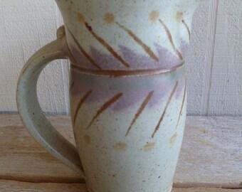 Vintage Handmade Pottery Pitcher