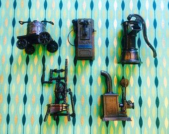 Vintage Appliance Die Cast Pencil Sharpeners