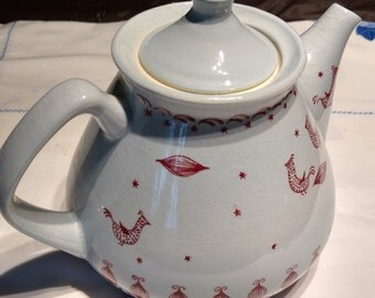 "Stavangerflint ""Kari"" Teapot, by Norwegian designer Inger Waage"