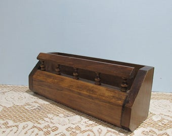 Wooden Spice Rack ~ Rustic Wood Shelf ~ Counter Spice Shelf ~ Knick Knack Shelf ~ Display Shelf ~ Cosmetic Organizer ~One Shelf Spice Rack