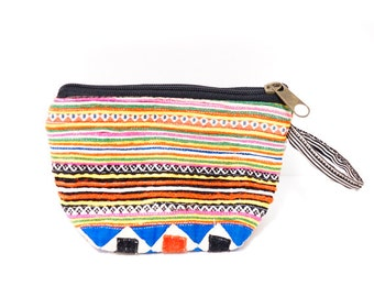 Hmong Pouch (0016) Hmong Embroidery Pouch Ethnic pouch Hippie pouch Hmong embroidery Pouch