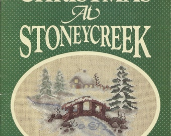 Chjristmas at Stoneycreek Cross Stitch Booklet