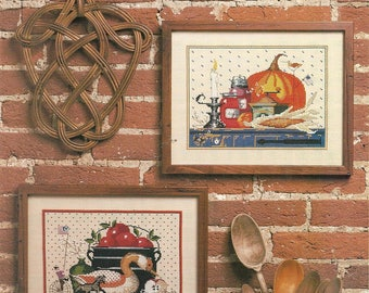 Dimensions:  Harvest Time Cross Stitch Chart