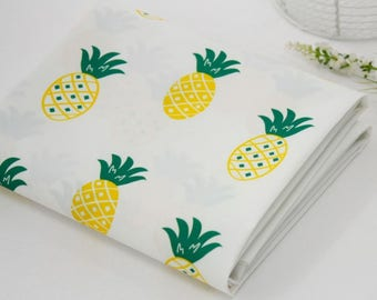 Waterproof Fabric Pineapple By The Yard