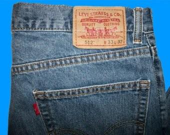 Levis 512 Slim 33 W x 32 L
