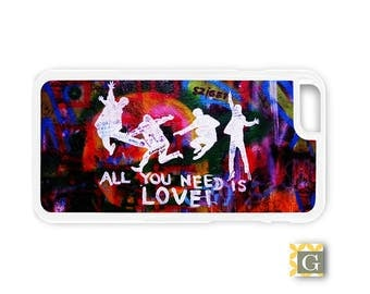 Galaxy S8 Case, S8 Plus Case, Galaxy S7 Case, Galaxy S7 Edge Case, Galaxy Note 5 Case, Galaxy S6 Case - The Beatles Graffiti