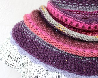 Scarf Snood Berry mix