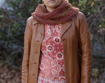 WAVERLY Pullover Cowl // Handknit Cowl // Chunky Knit Cowl
