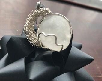 Siler wire moon wrap