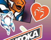 Ahsoka Tano Sticker pack