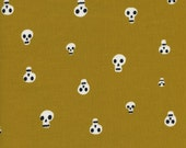 Boo by Cotton and Steel House Designer - Fat Quarter- Charms in Mustard