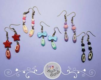 Ballet slippers earrings