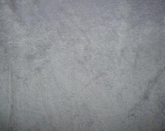 Fabric - Deep pile plush cuddle fleece - mist grey