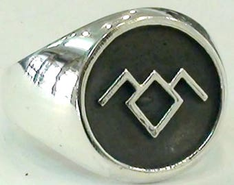 Twin Peaks Black Lodge Owl Ring Solid Sterling Silver 925