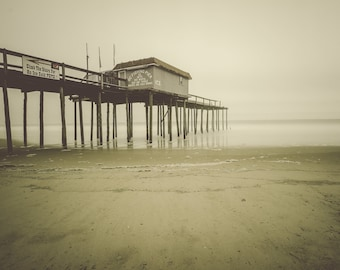 Haunted house photo black bat photo carnival rides ocean city for Maryland fishing piers
