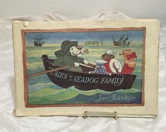 Joe Lasker Art Tales of Seadog Family 1974 HC w Dustjacket