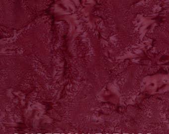 Hoffman Fabrics Watercolors Mulberry Purple Red 1895-428-Mulberry Bali Batik Fabric