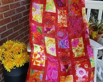 Flower Bed Quilt Pattern