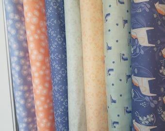 Dear Stella Fabric Bundle of Dala - 7 different fabrics