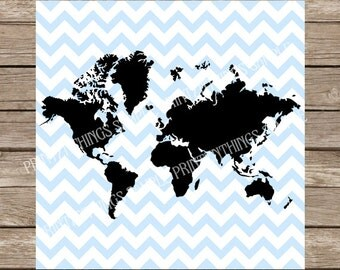 World map silhouette etsy world map svg map of world svg dxf png cut files silhouette studio cricut design space gumiabroncs Images