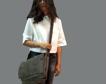 Sale!!! Women's messenger Laptop bags for women 15 in Leather messenger bag Soft Leather bag Women Macbook leather bag