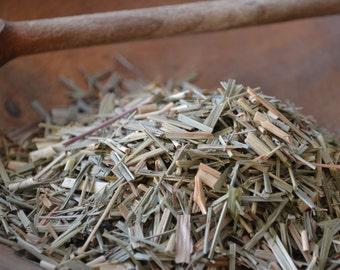 ORGANIC LEMONGRASS herb • Cymbopogon citratus • Dried • Grass • Poaceae • Non-irradiated • Non-gmo Herbs • Whole Herb • USA Grown • 1oz