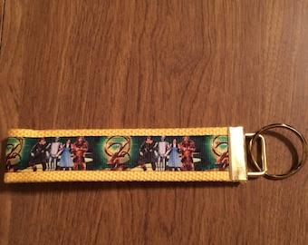 Wizard Of Oz Key Chain Zipper Pull