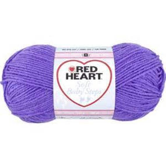 Red Heart Soft Baby Steps - Grape