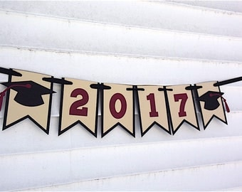 Banner 2018 Graduation, 2018 Graduation Banner, Graduation Decorations, Graduation Banner, Graduation Party Decorations CHOICE OF COLORS