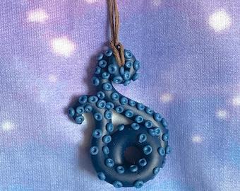 Tenctacols Octopus pendant, handmade