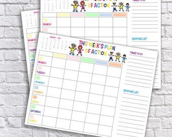 Family planner | Etsy