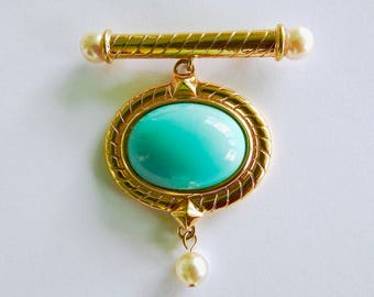Sandy Miller Burrows Hanging Brooch Classy