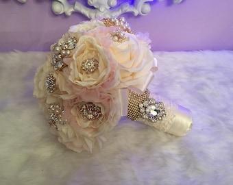 Wedding/ Quinceniera vintage bouquet