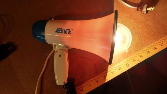 Megaphone Lamp
