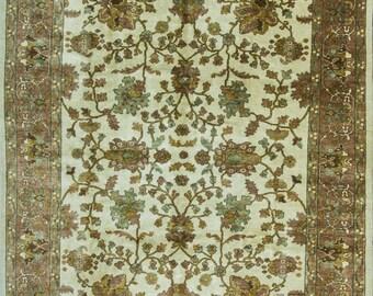 8' x 10' Gorges Turkish Oushak Carpet