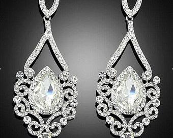 Vintage Affair Bridal Earrings