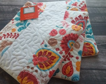 Quilted Hot Pads - Set of 3!  Hot pad, kitchen decor, tableware, table linen, quilted, quilted trivet, trivet,