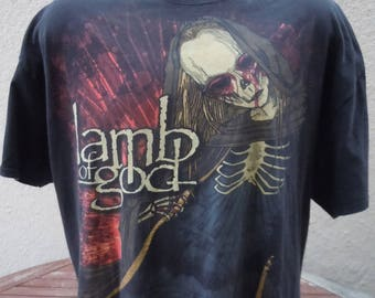 Size XXXL (56) -- Lamb of God Shirt (Double Sided)