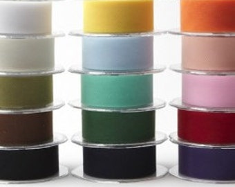 1.5 inch Tulle Ribbons 50 yards , Fabric,Nylon, for hair bows, wedding supplies, headband etc