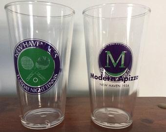 16 oz Personalized Party Pint (Plastic Pub Glass) - single color imprint