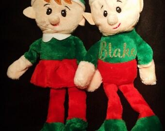 Custom Elf Plush