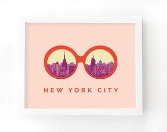 NYC Sunnies Print 11x14