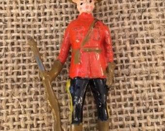 Vintage Lead Royal Canadian Mountie